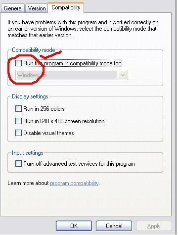 "Langkah kedua: Klik tab ""Compatibility"" lalu centang Compatibility Mode."